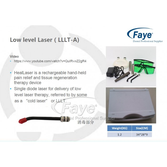 Dental Lllt Cold Soft Low Level Laser Therapy Pain
